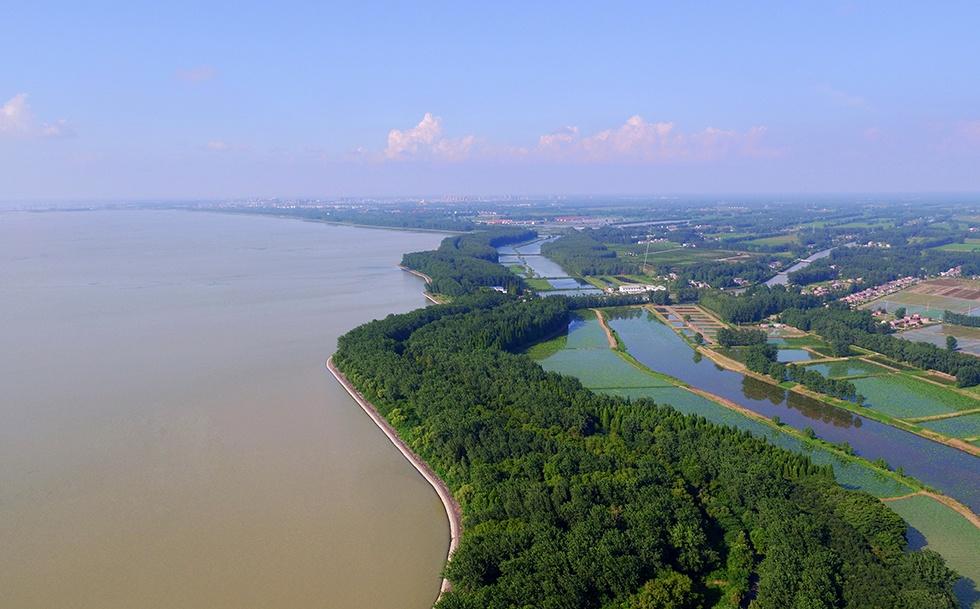 洪泽湖大堤