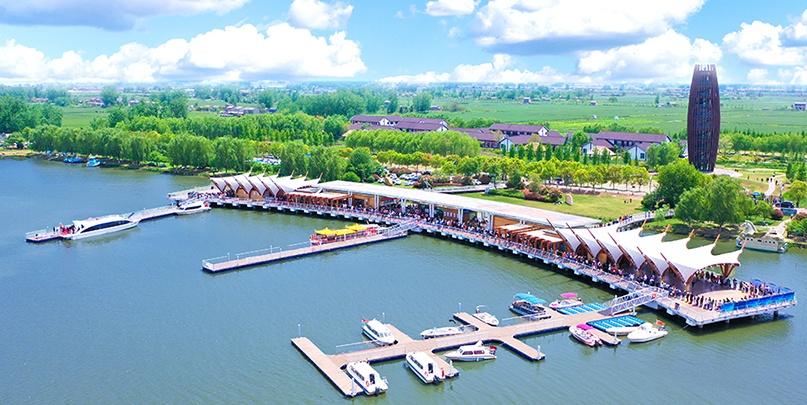 白马湖旅游